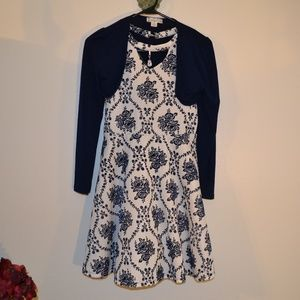KNITWORKS DRESS AND JACKET